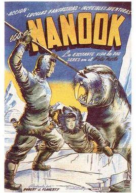 Cartel oficial en español de: Nanuk, el esquimal