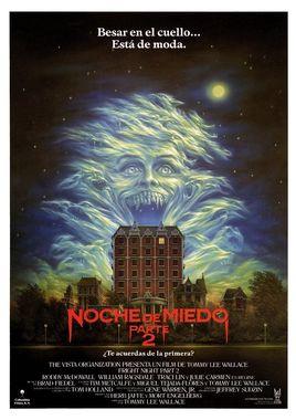 Cartel oficial en español de: Noche de miedo 2