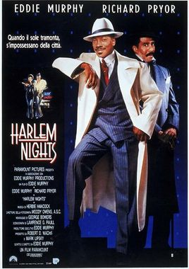 "Cartel ""Noches de Harlem"" italiano"