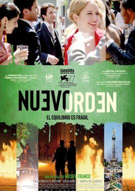 Cartel oficial en español de: Nuevo orden