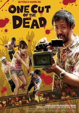 Cartel oficial en español de: One Cut of The Dead