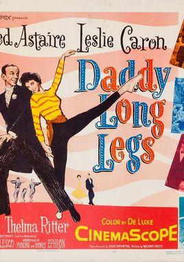 "Cartel ""Papá piernas largas"" estadounidense 2"