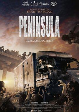 Cartel oficial en español de: Península