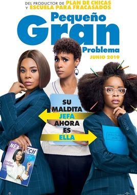 Cartel oficial en español de: Pequeño gran problema