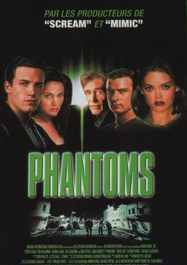 "Cartel ""Phantoms"" francés"