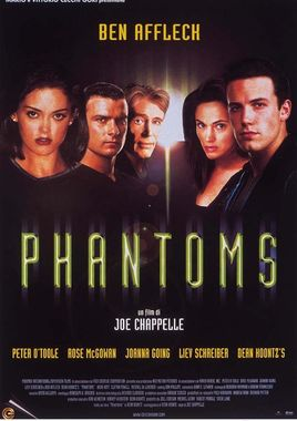 "Cartel ""Phantoms"" italiano"