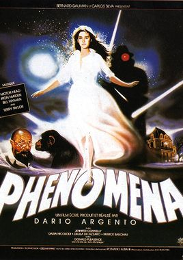 "Cartel ""Phenomena"" francés"