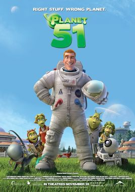 "Cartel ""Planet 51"" canadiense"