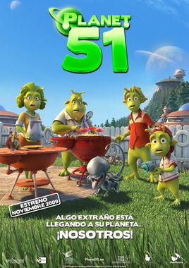 "Cartel ""Planet 51"" español 2"