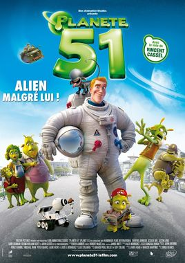 "Cartel ""Planet 51"" francés"