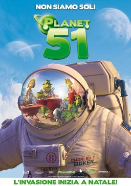 "Cartel ""Planet 51"" italiano"