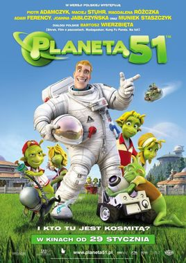"Cartel ""Planet 51"" polaco"