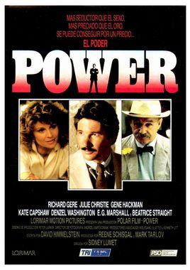 Cartel oficial en español de: Power (Poder)