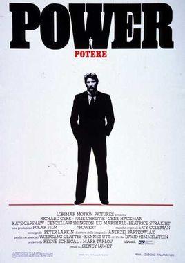 """Cartel de """"Power (Poder)"""" italiano"""