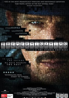 "Cartel ""Predestination"" norteamericano 2"