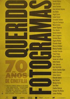 Cartel oficial en español de: Querido Fotogramas