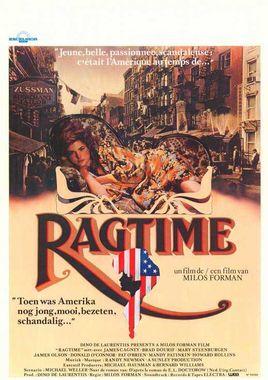 "Cartel ""Ragtime"" belga"