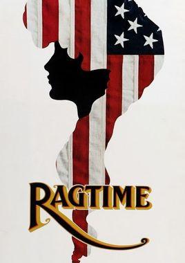 """Cartel """"Ragtime"""" norteamericano 2"""