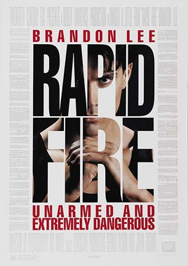 "Cartel ""Rapid Fire"" norteamericano 2"