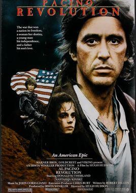 """Cartel de """"Revolución"""" norteamericano"""