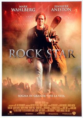 "Cartel de ""Rock Star"" italiano"