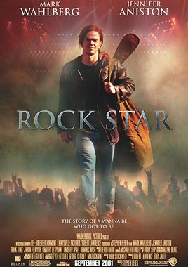 "Cartel de ""Rock Star"" norteamericano"