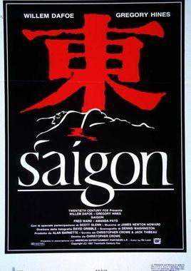 "Cartel ""Saigón"" Italiano"