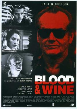 "Cartel de ""Blood & Wine (Sangre y vino)"" italiano"