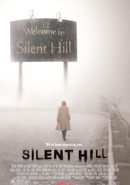 "Cartel ""Silent Hill"" norteamericano"