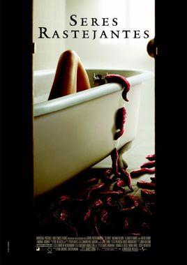 """Cartel """"Slither: La plaga"""" brasileño"""