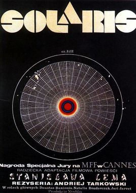 "Cartel ""Solaris (1972)"" polaco"