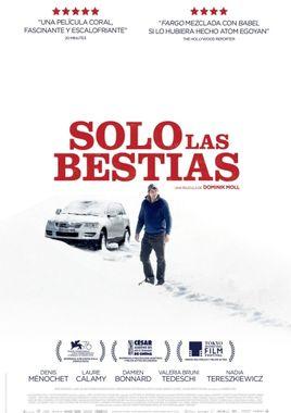 Cartel oficial en español de: Solo las bestias