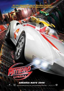 "Cartel ""Speed Racer"" mexicano"