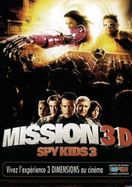 "Cartel ""Spy Kids 3D: Game Over"" francés"