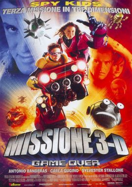"Cartel ""Spy Kids 3D: Game Over"" italiano"