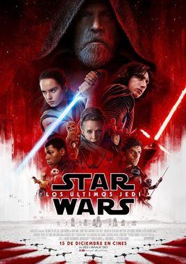 Cartel oficial en español de: Star Wars: Los últimos Jedi