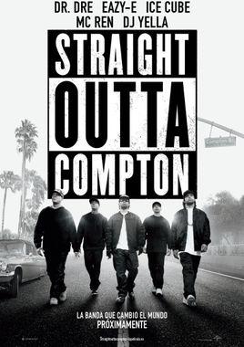 Cartel oficial en español de: Straight Outta Compton