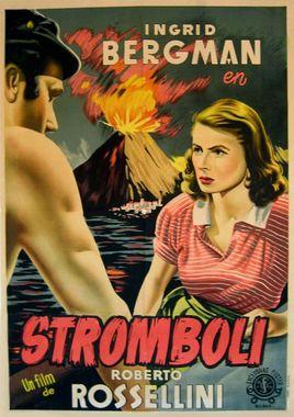 Cartel oficial en español de: Stromboli (Tierra de Dios)