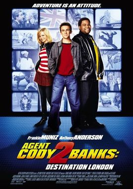 """Cartel """"Superagente Cody Banks 2: Destino Londres"""" norteamericano"""