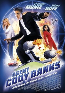 "Cartel ""Superagente Cody Banks"" alemán"