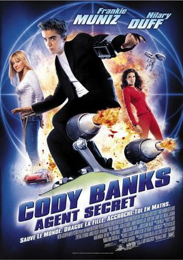 "Cartel ""Superagente Cody Banks"" francés"