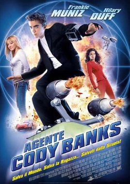 "Cartel ""Superagente Cody Banks"" italiano"