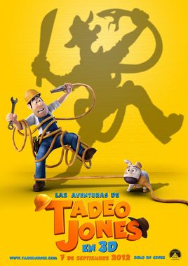 "Cartel ""Las aventuras de Tadeo Jones"" español 2"