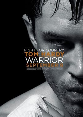 "Cartel teaser ""Warrior"" norteamericano"