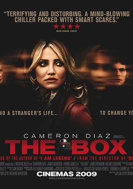 "Cartel ""The Box"" inglés"