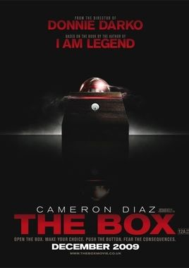 "Cartel teaser ""The Box"" norteamericano"