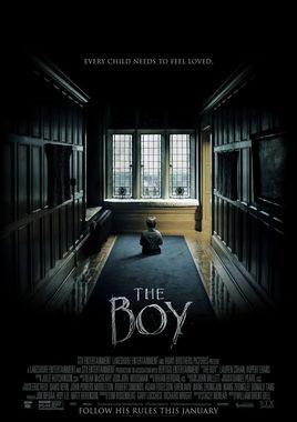 """Cartel """"The Boy"""" norteamericano"""
