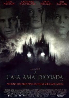 "Cartel ""The Haunting (La guarida)"" brasileño"