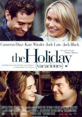 Cartel oficial en español de: The Holiday (Vacaciones)