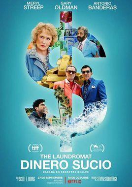Cartel oficial en español de: The Laundromat: Dinero sucio
